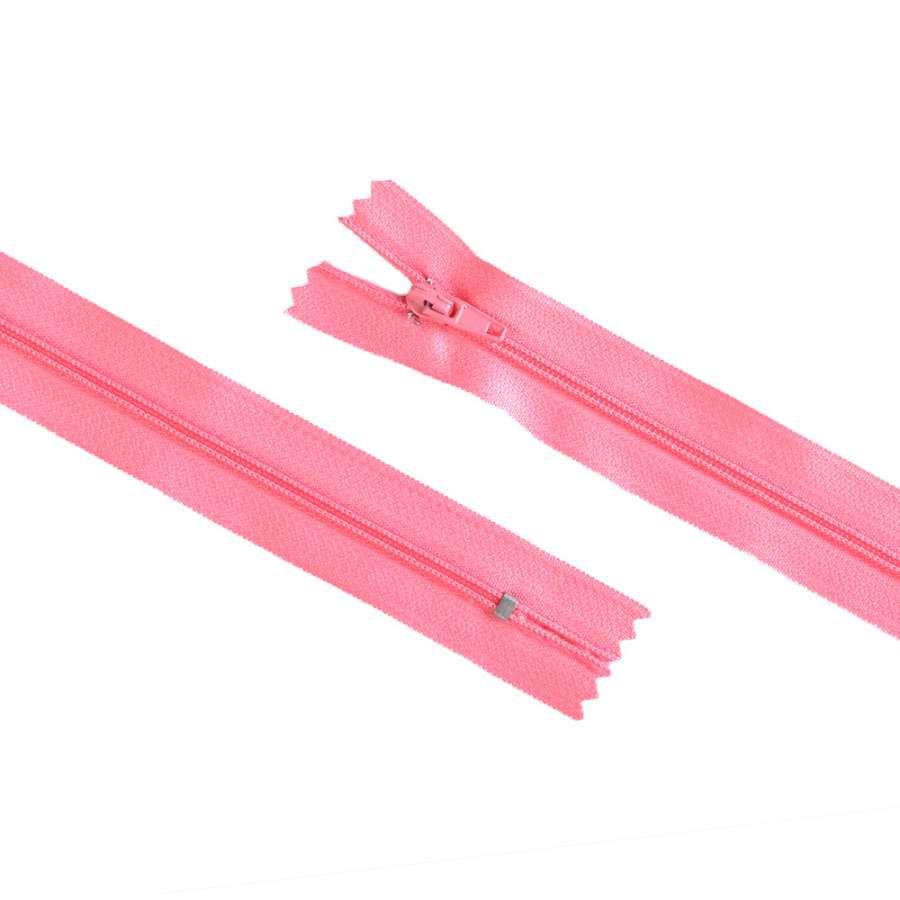 Молния спиральная М-20 Тип-3 неразъемная х/б розовая