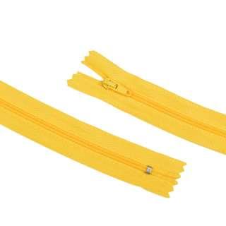 молния спиральная М-20 Тип-3 неразъемная х/б желтая