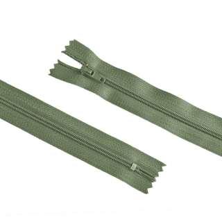 блискавка спіральна М-20 Тип-3 нероз'ємна х / б брудно-зелена