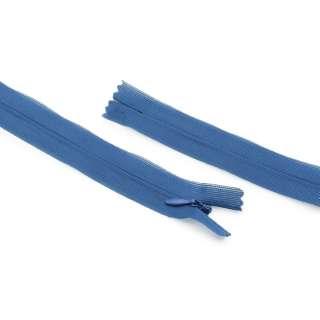блискавка спіральна М-20 Тип-3 нероз'ємна нейлон синя матова