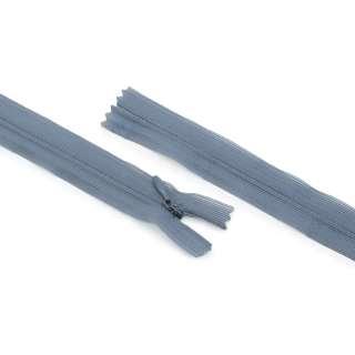 Молния спиральная М-20 Тип-3 неразъемная нейлон серый с графитовым бегунком