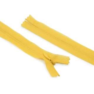 Молния спиральная М-20 Тип-3 неразъемная нейлон солнечно-желтая