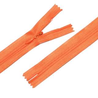 Молния потайная М-25 Тип-3 неразъемная нейлон оранжевая