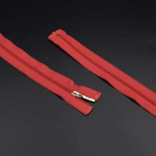 блискавка спіральна М-50 Тип-3 роз'ємна 1бегунок нейлон червона