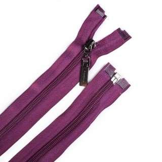Молния спиральная, 70см, тип 5, разъемная фиолетовая