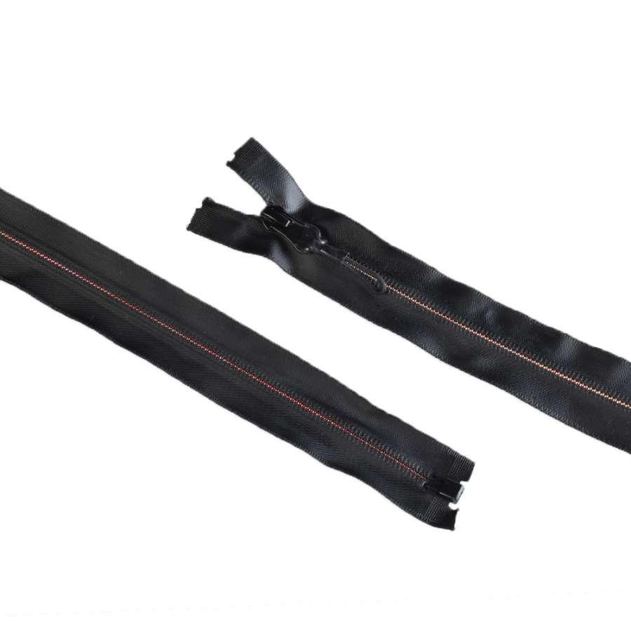 Молния спиральная М-80 Тип-7 водонепроницаемая разъемная черная