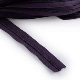 Молния рулонная спиральная Т-5 (за метр) фиолетовая