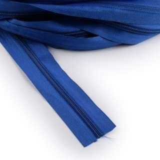 Молния рулонная спиральная Т-5 (за метр) синяя