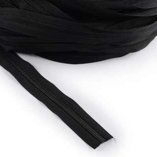 Молния рулонная спиральная Т-5 (за метр) черная