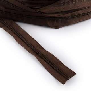 Молния рулонная спиральная Т-5 (за метр) коричневая