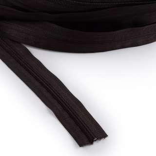 Молния рулонная спиральная Т-5 (за метр) коричневая темная