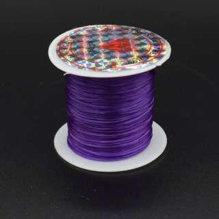 Нитка стрейч фиолетовая