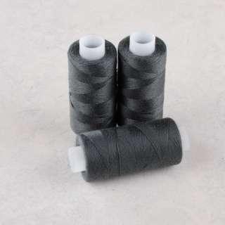 Нитки для джинсов 20/3 Омега-36 (150м) цвет 345 серые темные