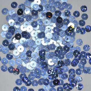 пайетка сине-голубая голограмма 0,5см, 25г