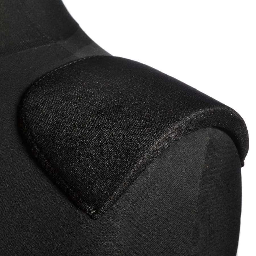 плечевые накладки черные поролон обшитые трикотажем 10*110*165