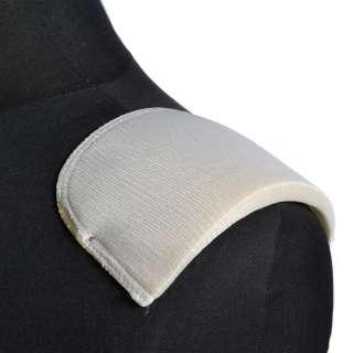 плечевые накладки белые поролон обтянутый трикотажем 12*120*155