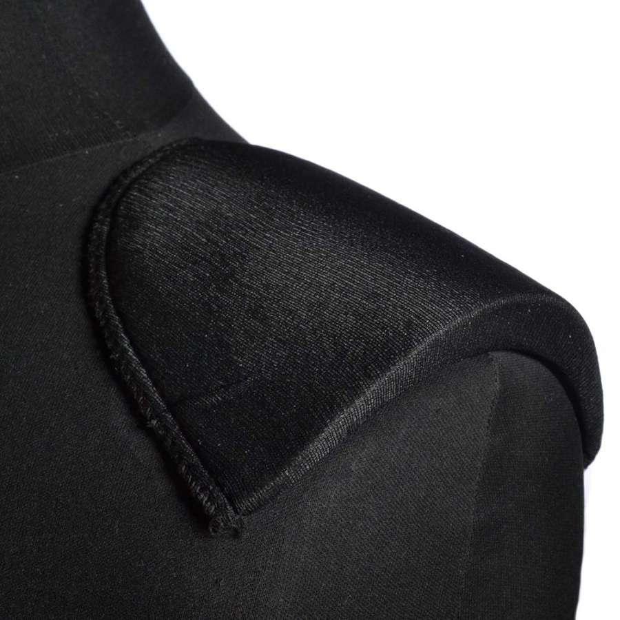 плечевые накладки черные поролон обтянутые трикотажем 14*125*175