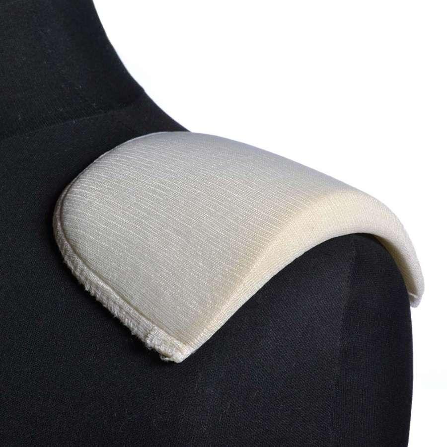 плечевые накладки белые поролон обтянутый трикотажем 14*108*180