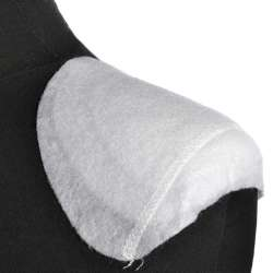 Плечевые накладки полуреглан нетканый материал 6 слоев 15х160х195 белые