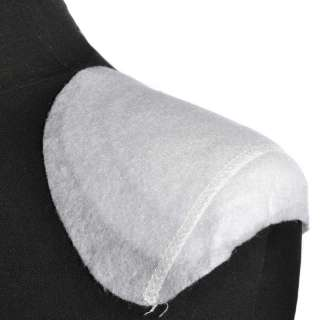 Плечевые накладки полуреглан нетканый материал 6 слоев 15х140х160 белые