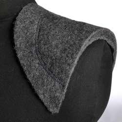 Плечевые накладки нетканный материал и бортовка 9 слоев 17х160х310  серые