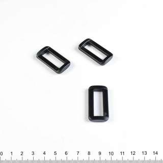 пряжка рамка 40*20 черная