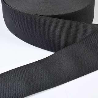 Резинка 70мм черная