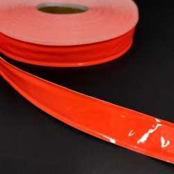 Тесьма светоотражающая 25см оранжевая неон