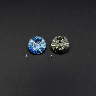 Кристалл пришивной круглый 2 цвета