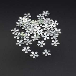 Термострази метал квітка сріблясті