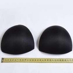 Чашки для белья размер 2 форма треугольная черные