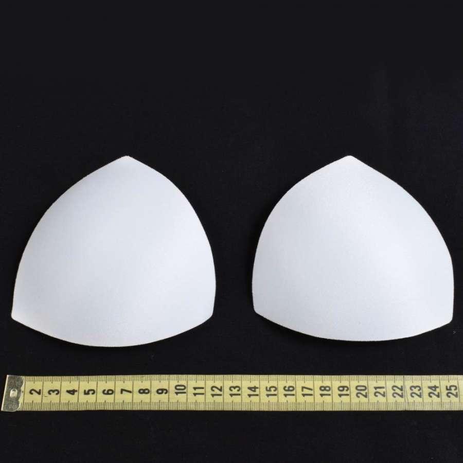 Чашки для белья (форма треугольная, цвет белый) размер 0