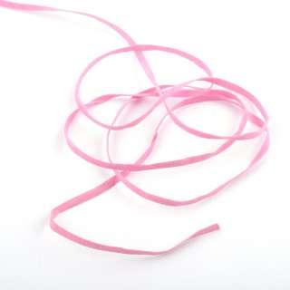 Шнур замшевый 3 мм розовый