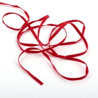 Шнур замшевый 3 мм красный