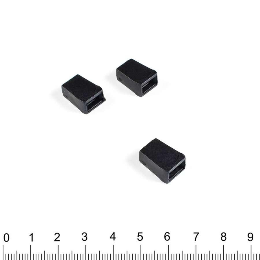 наконечник черный конус под шнур 4мм