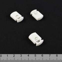 фиксатор молочный 1 отв, 14мм, под шнур 4мм