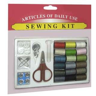 набор швейный дорожный с нитками