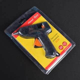 Пистолет клеевой под стержни 8 мм черный