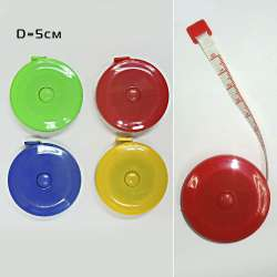 Сантиметровая лента рулетка 4 цвета