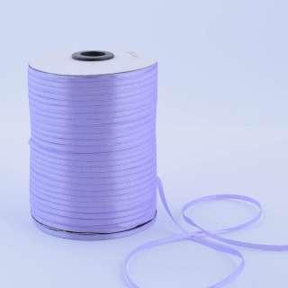А1-01-021 атласна стрічка ш 0,3 см бузкова на метраж (в бобіні 880яр / 315г