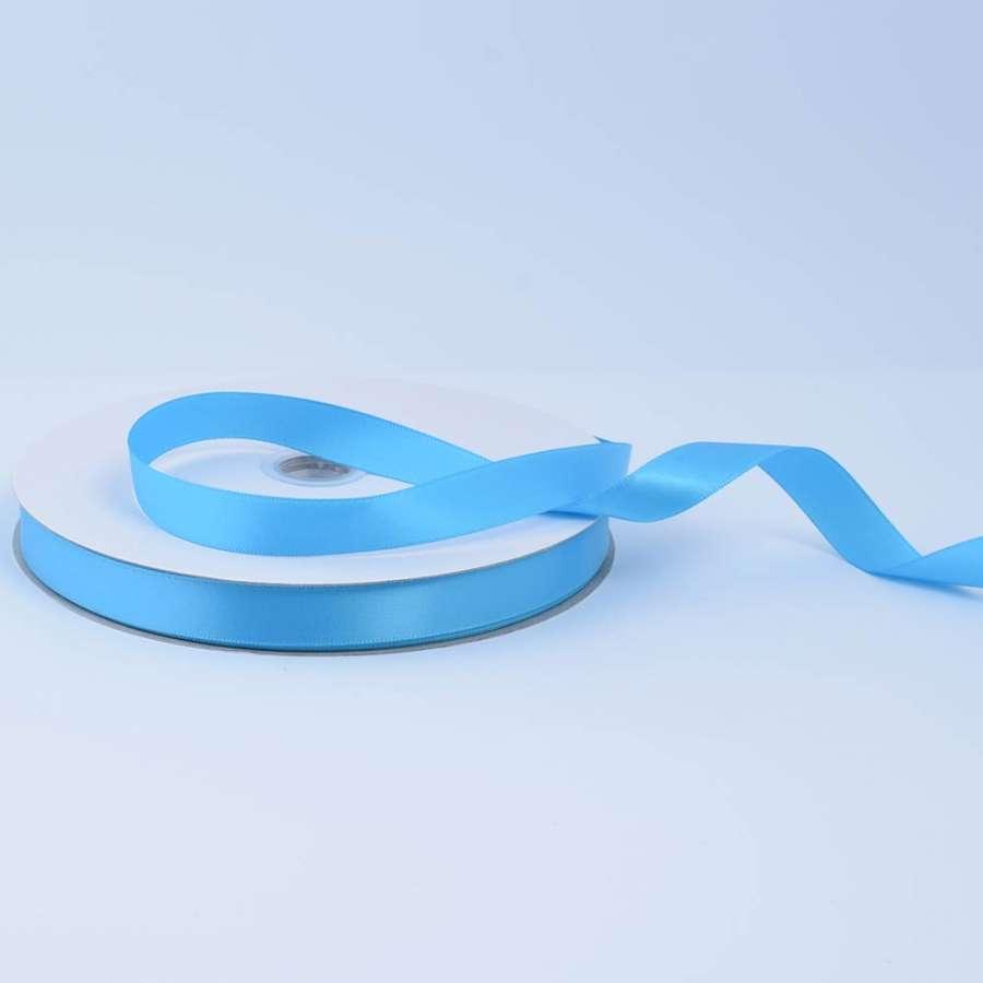 Лента атласная 15мм голубая А2-05-093 на метраж (бобина 100яр/230г)
