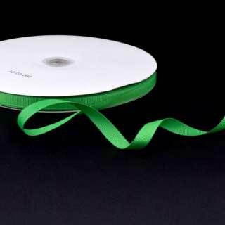 Лента репсовая ш.1 см А5-03-060 зеленая на метраж (в бобине 100яр/207г)
