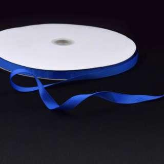 Лента репсовая ш.1 см А5-03-094 синяя ультрамарин на метраж (в бобине 100яр/207г)
