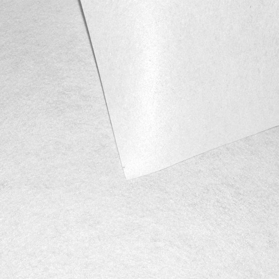 Фетр лист білий (0,9мм) 21х30см