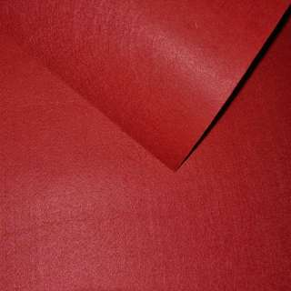 Фетр лист красный (0,9мм) 21х30см
