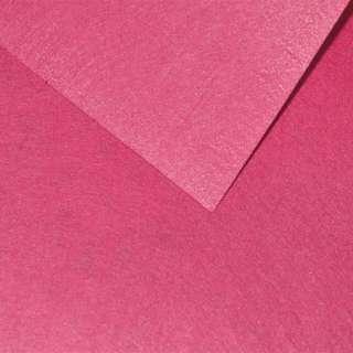 Фетр лист розовый темный (0,9мм) 21х30см
