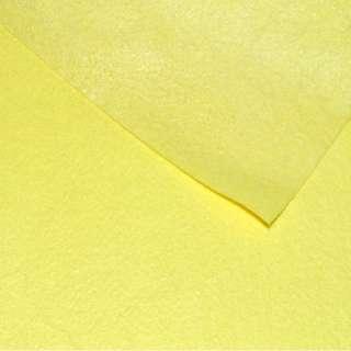 Фетр лист желтый (0,9мм) 21х30см