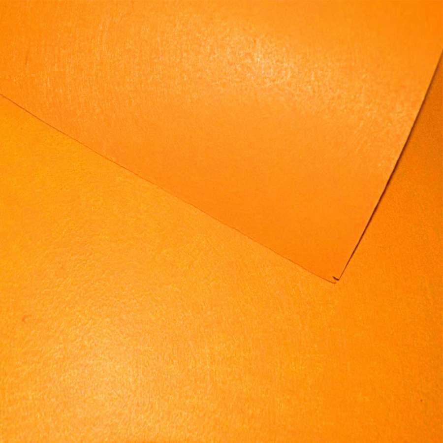 Фетр лист помаранчевий (0,9мм) 21х30см