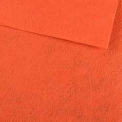 Фетр лист морквяний (0,9 мм) 21х30см