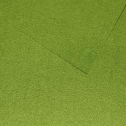Фетр лист зелений (0,9 мм) 21х30см